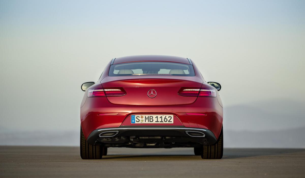New Mercedes-Benz E-Class coupe 05