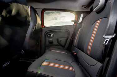 Renault Twingo GT rear seats