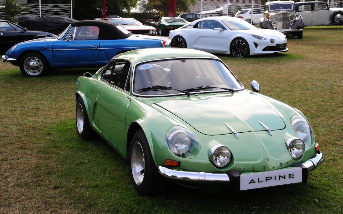 "The ""Berlinette"" is the Alpine A110's predecessor."