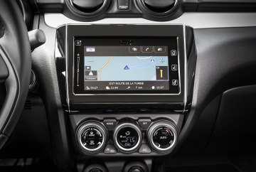Suzuki Swift touchscreen