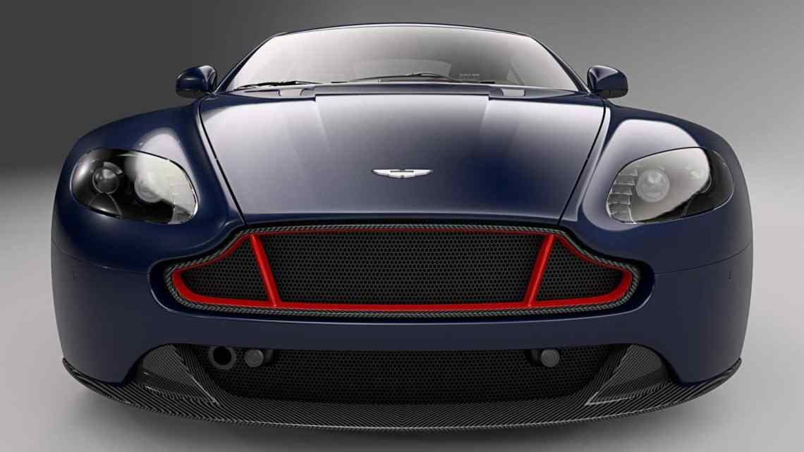 Front view of Aston Martin Vantage S Red Bull Racing Edition