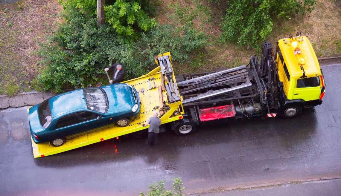 Used car warranty –tow truck
