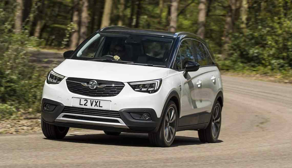 Vauxhall Crossland X on road 1