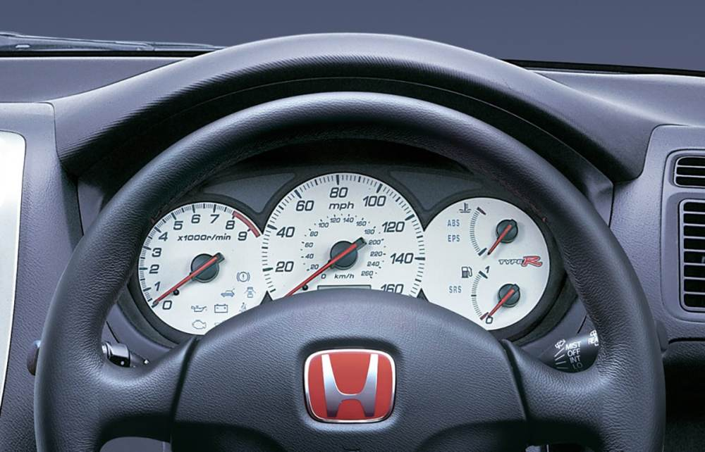 medium resolution of honda civic type r 2001 dash
