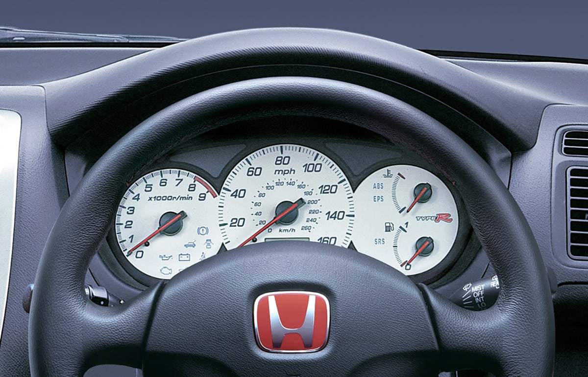 hight resolution of honda civic type r 2001 dash