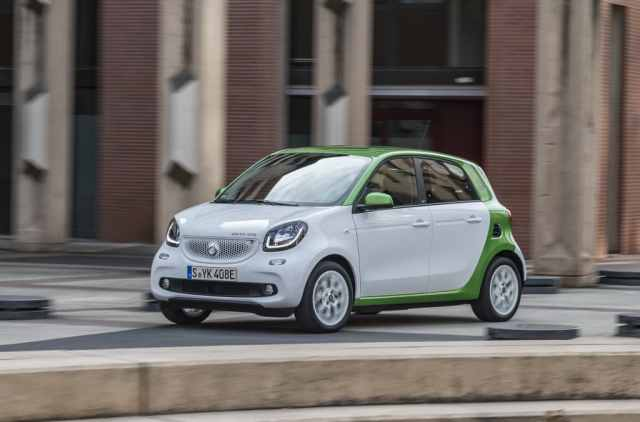 smart electric drive forfour