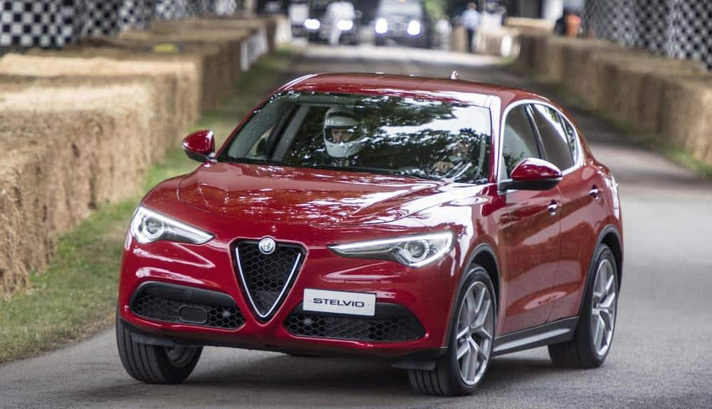 Alfa Romeo Stelvio at Goodwood