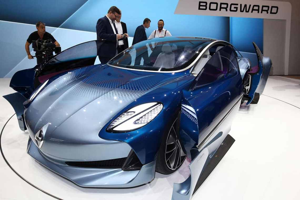 Borgward Isabella Frankfurt Show The Car Expert