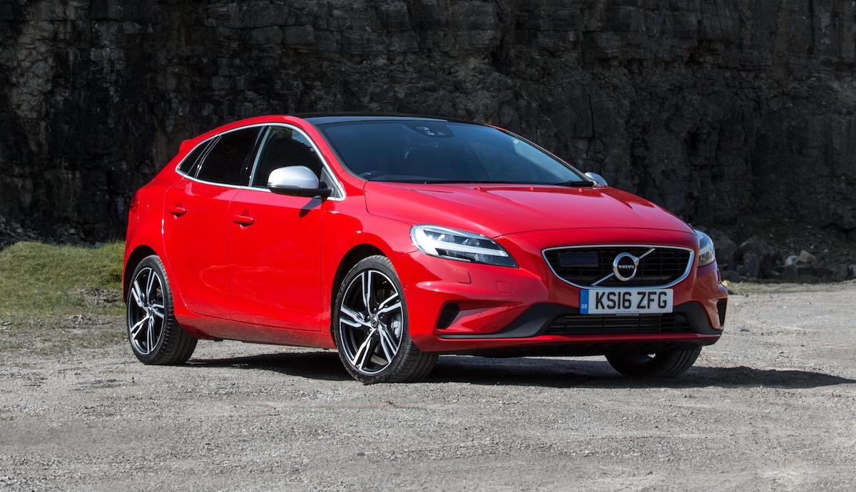 Volvo V40 with safety pack (top ten safest used cars 2017)