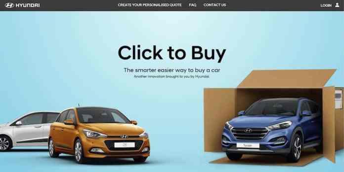 Hyundai Click to Buy a car online (The Car Expert)