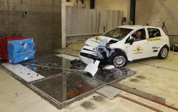 Fiat Punto scores zero stars in Euro NCAP crash tests