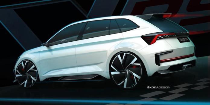 Skoda Vision RS concept sketch   The Car Expert