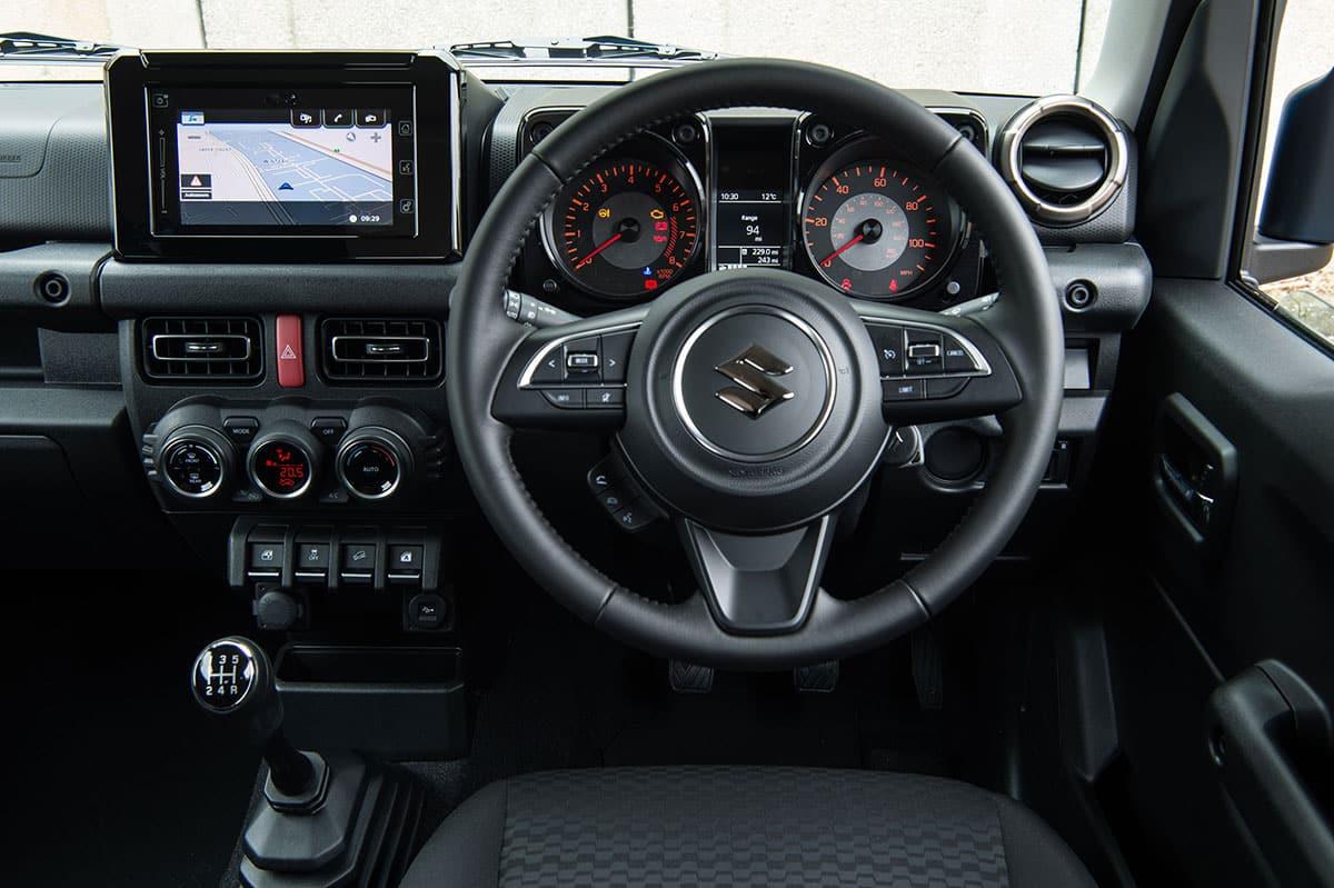 Suzuki Jimny (2018) dashboard | The Car Expert