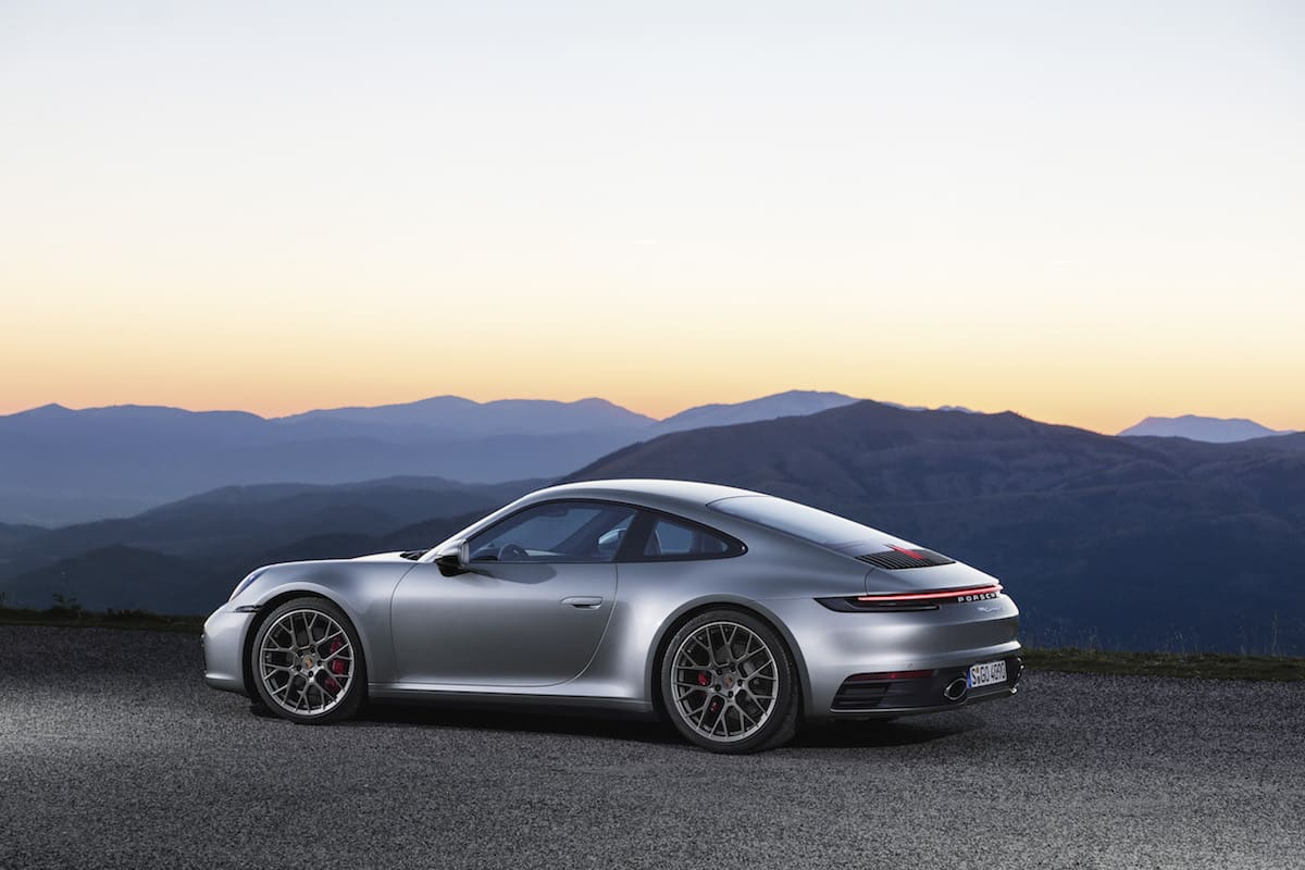 2019 Porsche 911 (992) rear view | The Car Expert