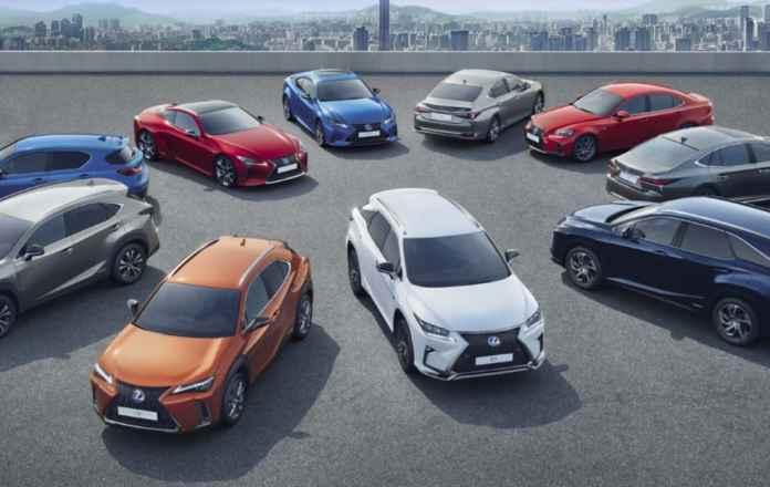 Lexus range