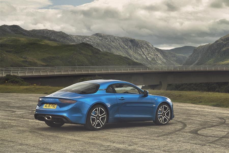 Alpine A110 (2017 - present) rear view | The Car Expert