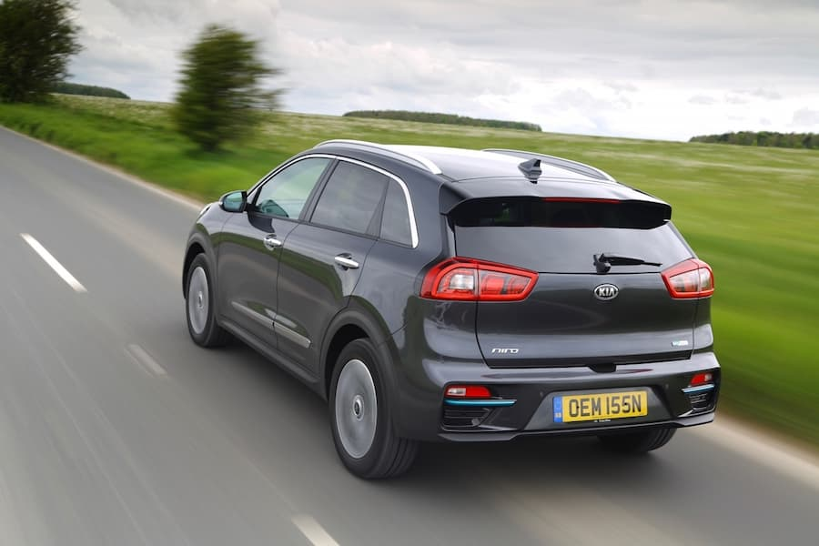 Kia e-Niro (2019) rear view | The Car Expert