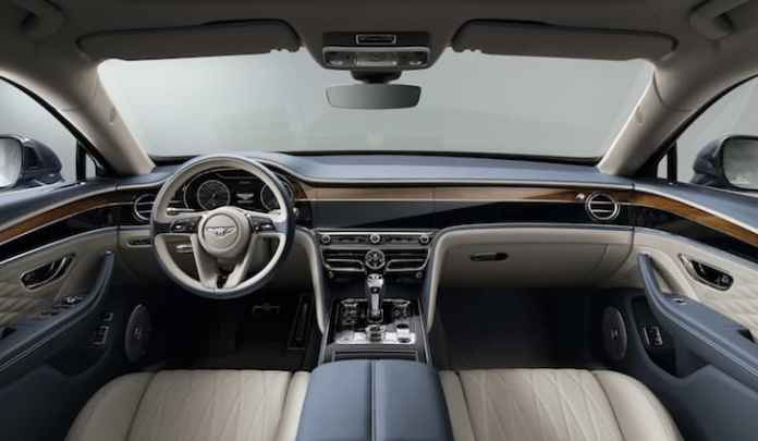 2020 Bentley Flying Spur - interior and dashboard | The Car Expert