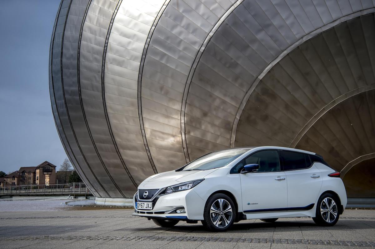 Nissan Leaf (2018) front view | The Car Expert