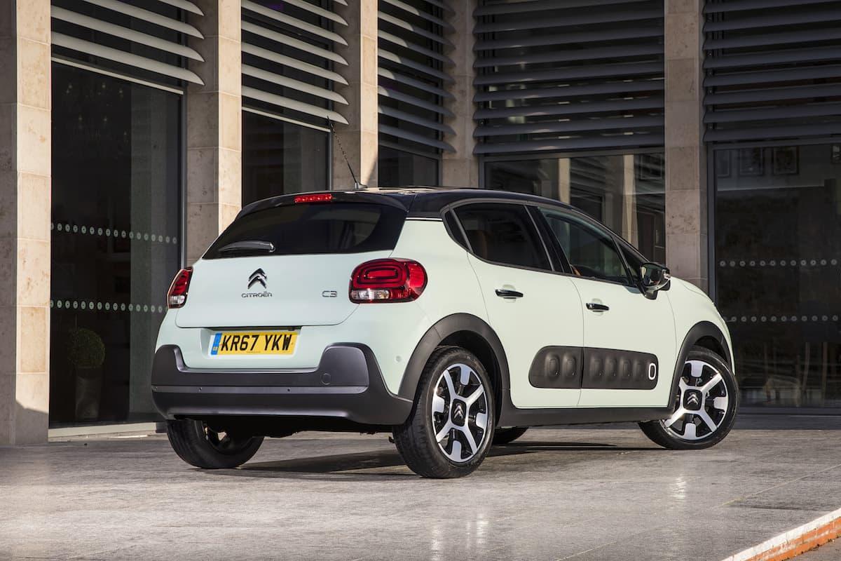 Citroën C3 (2017) - rear view | The Car Expert