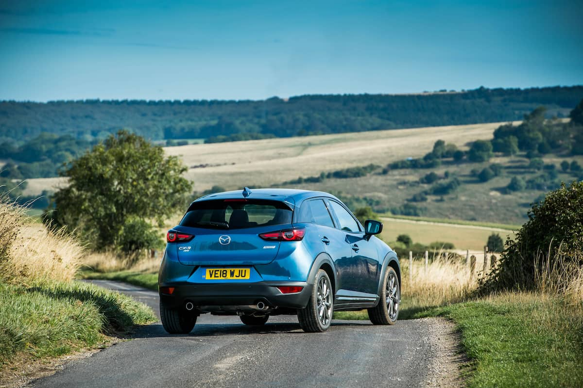 Mazda CX-3 - rear view | The Car Expert