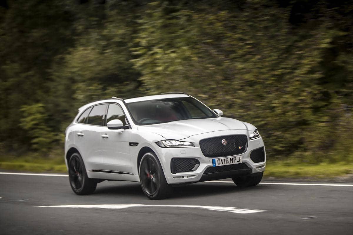 Jaguar F-Pace (2016 onwards) - front