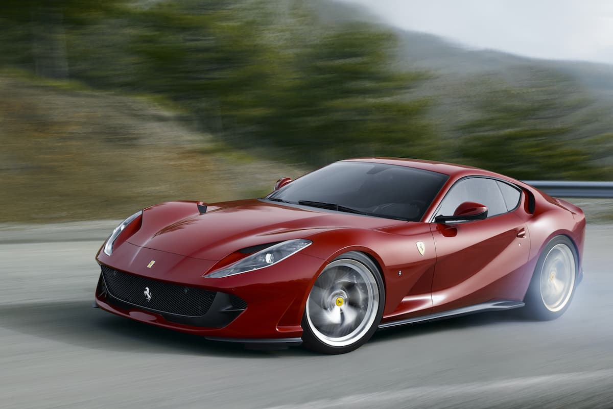 Ferrari 812 Superfast (2017 onwards) - front