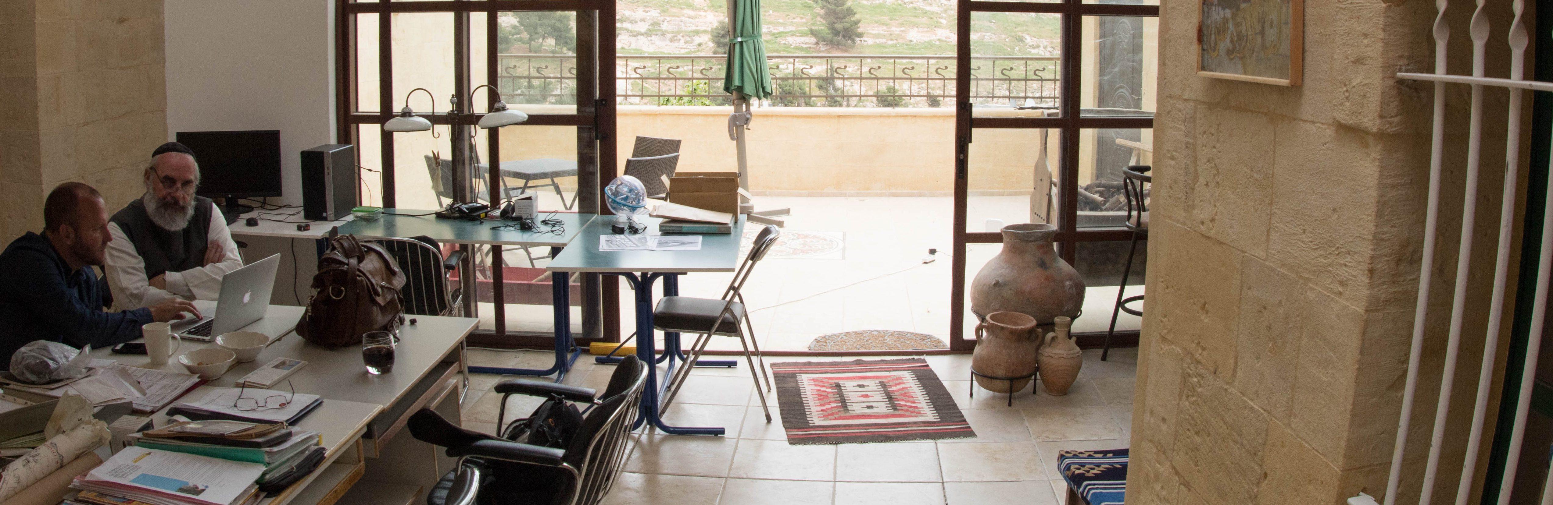 Projectbezoek in Jordanië