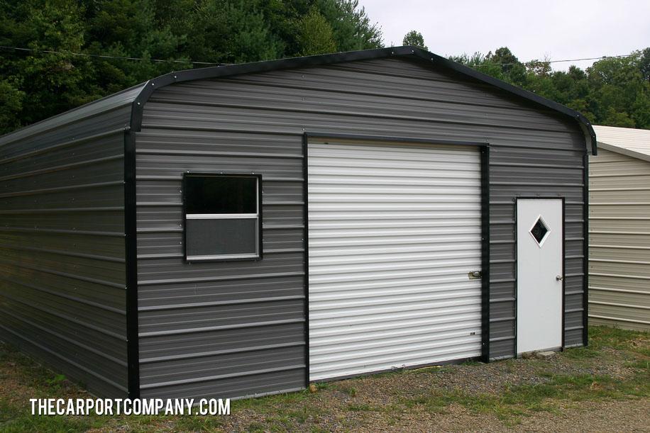 Enclosure Metal Carport The Carport Company