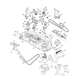 husqvarna mower deck belt diagram [ 1755 x 2252 Pixel ]