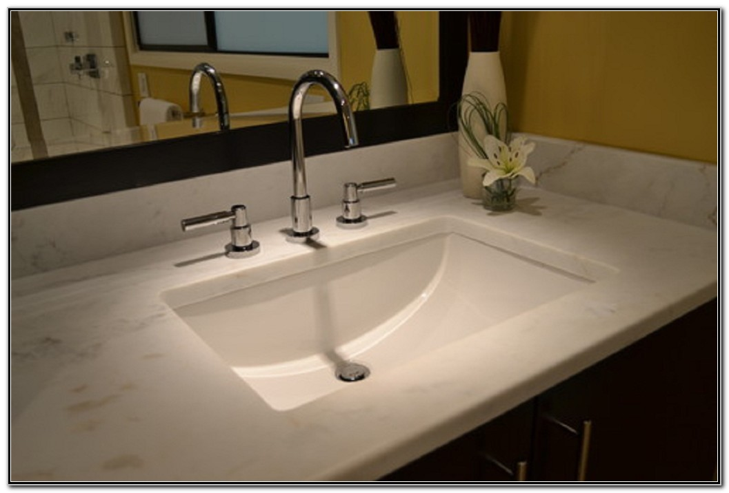 Square Undermount Bathroom Sinks  Sink And Faucets  Home