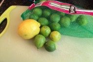 key lime with lemon