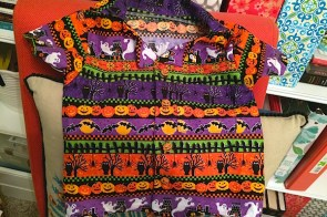 Halloween shirts, Aloha style – sewing tips