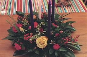 Make an Advent wreath