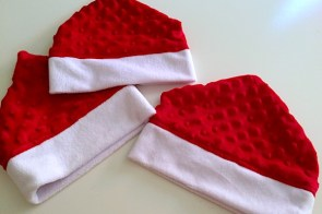 How to make a toddler elf hat sewing Christmas craft