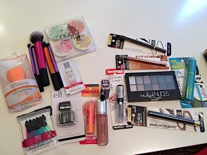 """Beauty buys roundup for face, eyes, lips, nails, and tools. These are my """"drugstore"""" picks."""