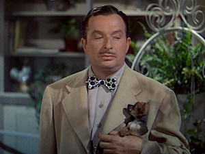 Xavier Cugat leads his Cuban band with his tiny chihuahua in his pocket. Jane Powell is spunky bobbysocker with a powerhouse voice. Lisa's Home Bijou: Holiday in Mexico (1946)