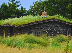 sod-house