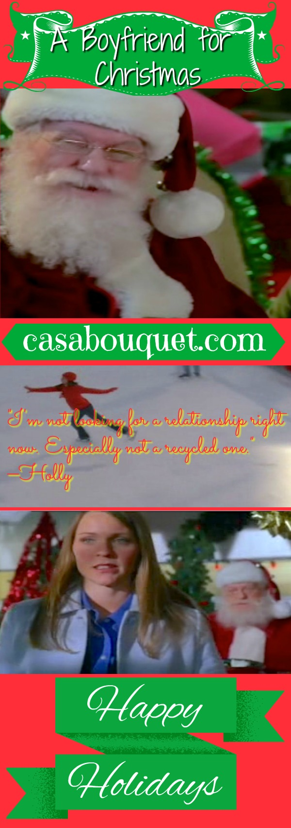 Santa promised Holly a boyfriend 20 years ago. He finally sends her Ryan in this fantasy Christmas story. Lisa's Home Bijou: A Boyfriend for Christmas (2004)