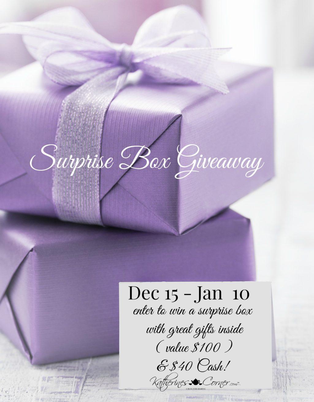surprise box giveaway main