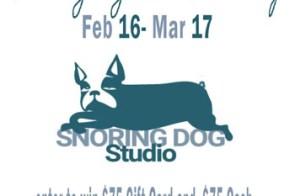 Snoring Dog Studio giveaway 02.16.18 – 03.17.18
