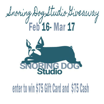 snoring dog giveaway
