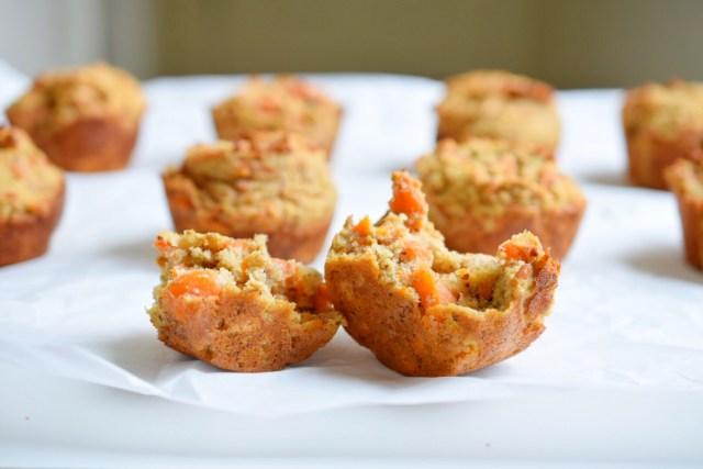 breakfast carrot muffins