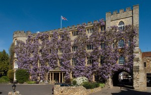 The Castle Hotel in Taunton, Somerset