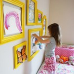 Kids Art Gallery Wall
