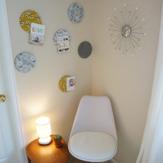 Office Overhaul: DIY Cork Board Circles