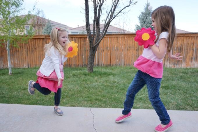 Velcro Ball Toss Flowers - 11