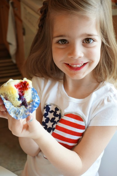 Red White and Blue Muffins - 11 of 13