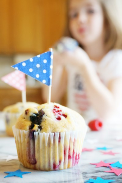 Red White and Blue Muffins - 9 of 13