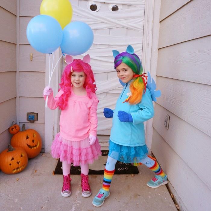 DIY My Little Pony Costume - Rainbow Dash - Pinkie Pie